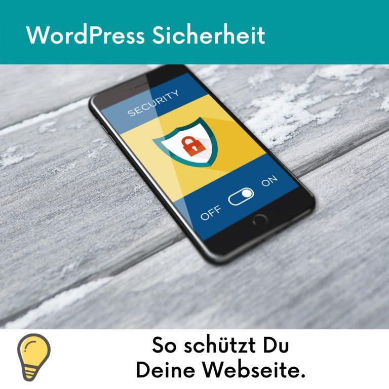 WordPress sicherer machen