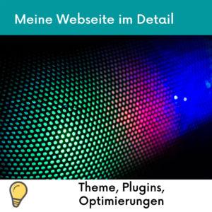 Webseite WordPress Theme Plugins Anpassungen
